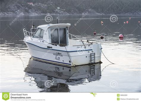 fishing boat length ocqueteau 625 editorial stock photo image 36652283