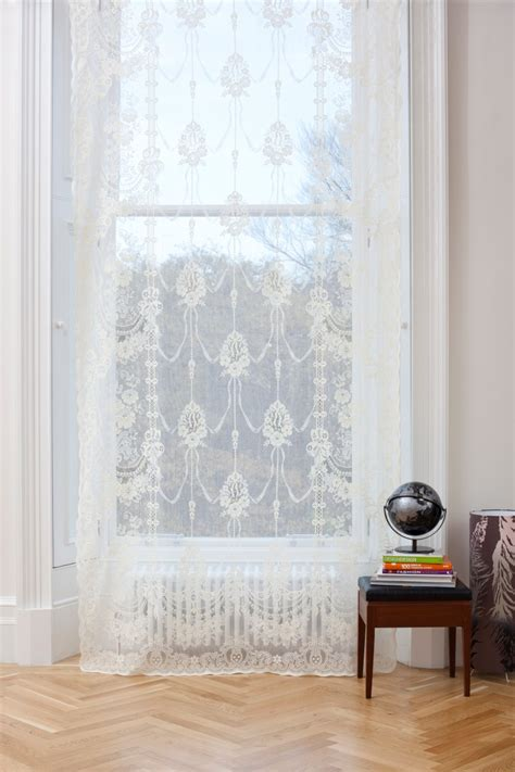 skye curtains skye ivory scottish lace panel 9996 from net curtains direct