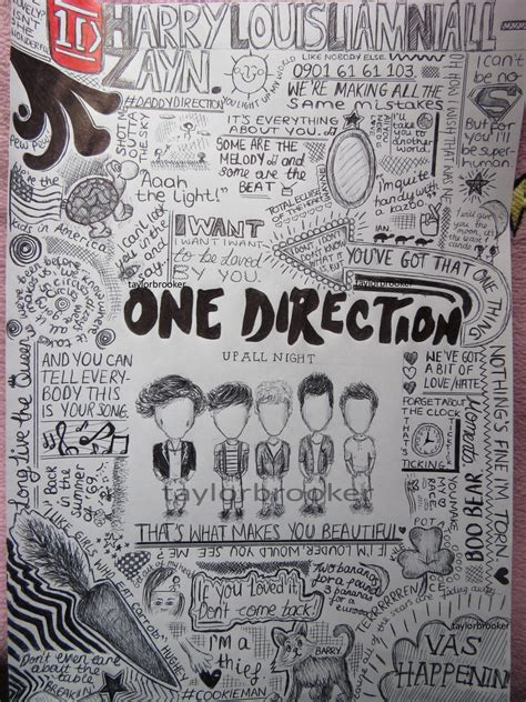 doodle one direction one direction doodles by taylorbrooker by 23 07 10
