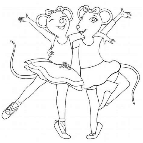 angelina ballerina coloring pages free get this angelina ballerina coloring pages free printable