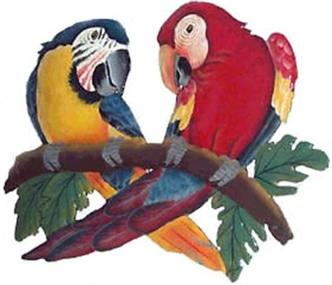 parrot wall decor handcrafted parrot wall decor tropical metal wall