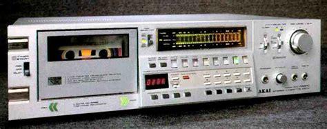 akai gx f66rc cassette deck