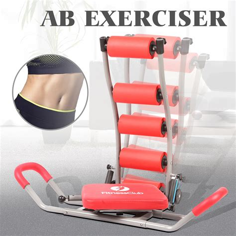 ab exerciser total complete abdominal trainer exercise fitness workout ebay