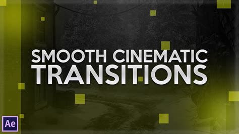tutorial after effect transition after effects tutorial cinematic transitions youtube