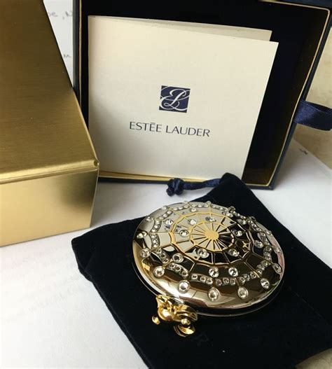 Compact Powder Estee Lauder 1099 best estee lauder solid perfume and powder compacts