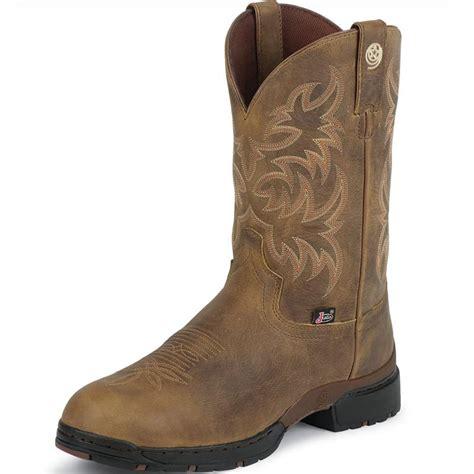 Shop S Justin George Strait Gaucho Cowboy Boots