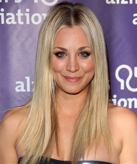 how to get kaley cuoco hairstyle kaley cuoco long straight formal hairstyle