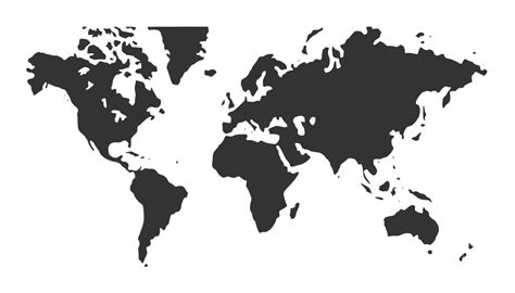world map black and white vector world map vector eps svg png onlygfx
