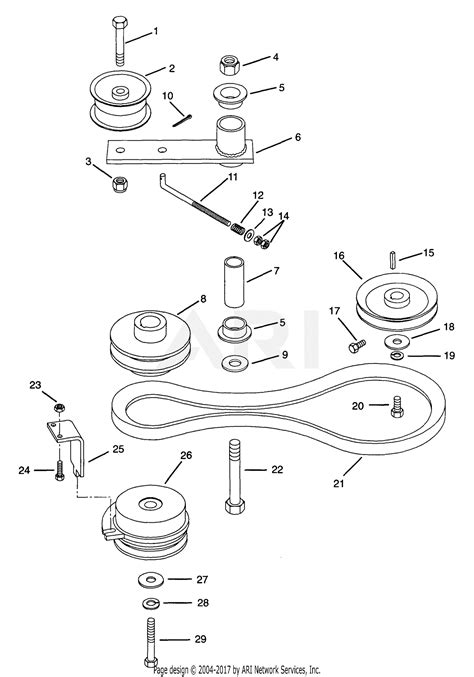 gravely   promaster  hp kohler  mower parts diagram  traction drive