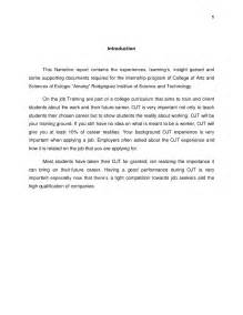 Introduction Of A Narrative Essay by Introduction For Narrative Report At Guidance And Counseling Services