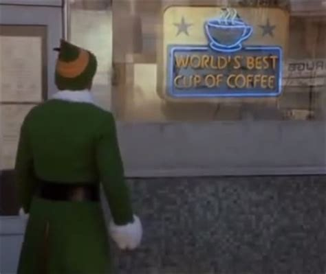 world s best cup of coffee mug elf movie will ferrell sign world s best cup of coffee the need for ethics in