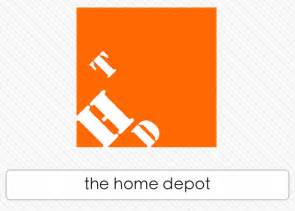 home depoit the home depot logos quiz answers logos quiz