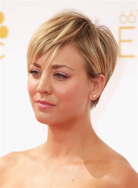 kaley cuoco why hair cut kaley cuoco emmy 2014 hair styles pinterest kurzer