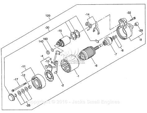 starter motor parts diagram robin subaru dy27 2 parts diagram for starter motor