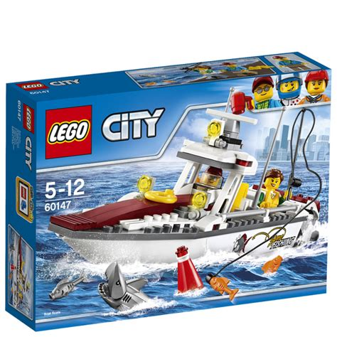 lego city fishing boat lego city fishing boat 60147 toys zavvi