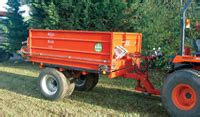 salcey plant hire topdressing