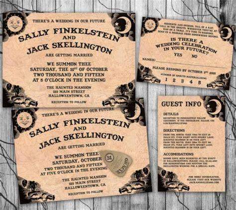 printable halloween wedding invitations halloween wedding invitation suite ouija board invite