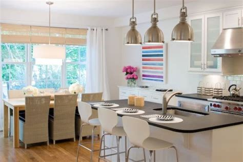Combining Kitchen And Dining Room by Combining Kitchen And Dining Room In A Way