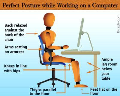 how to keep posture at a desk correct posture fit cheque and articles
