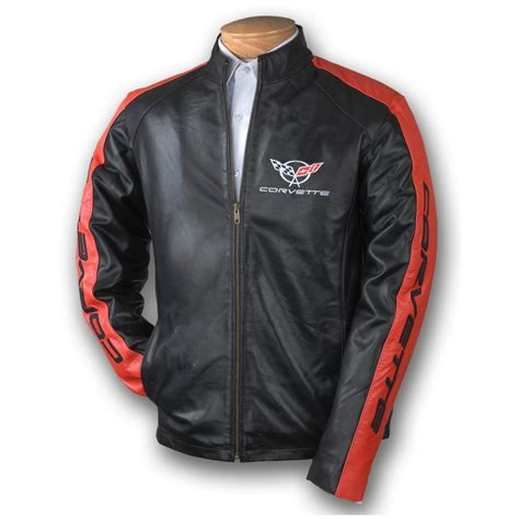 s burk s bay 174 c5 corvette jacket black 177257