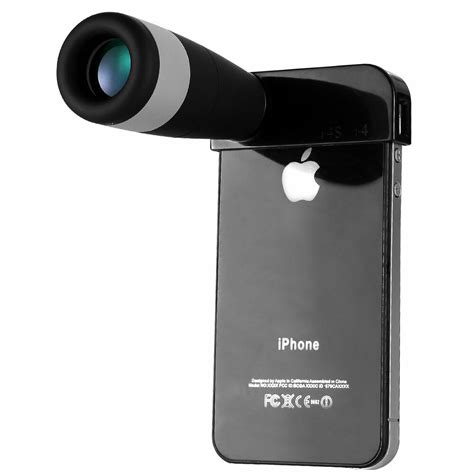 Iphone Zoom by White Black Optional 8x Zoom Telescope Lens For Iphone 4 4s 5 5s 6 6plus Ebay