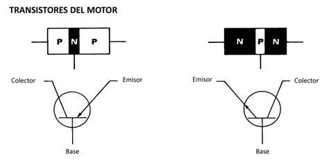 transistor pnp simbolo transistores motor parte 2 encendido electronico
