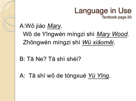 sentence pattern of mary is exhausted chinese link textbook lesson 2 sentence patterns