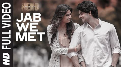 download mp3 from jab we met jab we met full hd video song hero