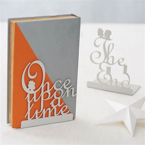 book end pair of fairytale bookends by heather alstead design