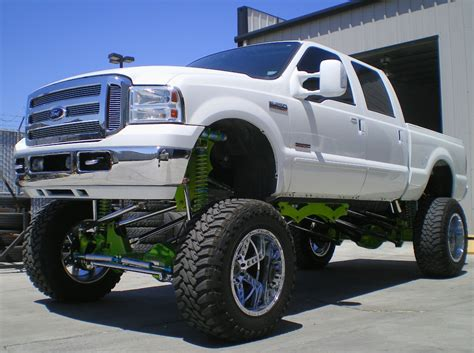 ford lifted 16 18 quot kk fabrication 2006 2010 ford f250 f350 coil over