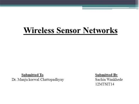 ppt templates for wsn wireless sensor network authorstream