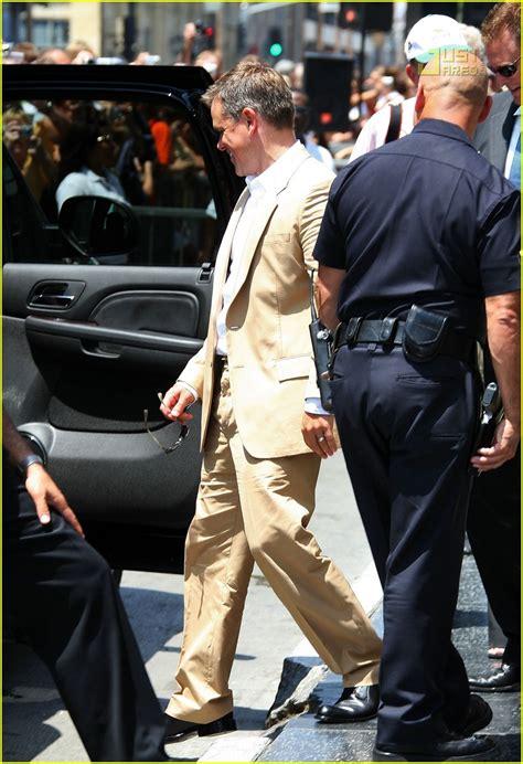 Matt Damon Gets His Walk Of Fame by Matt Damon Gets Walk Of Fame Photo 505881