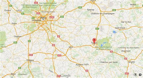 troyes map map of troyes area world easy guides