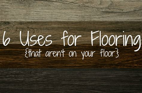 Unusual Shelving 6 uses for flooring that aren t on your floor