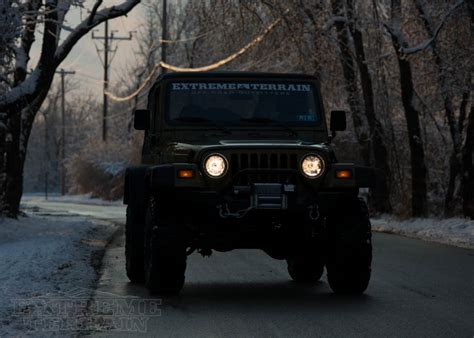 jeep headlights at night best headlights for my jeep wrangler how to adjust them