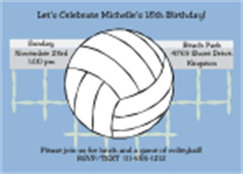 free printable volleyball invitations formal nautical birthday invitations party invitations ideas