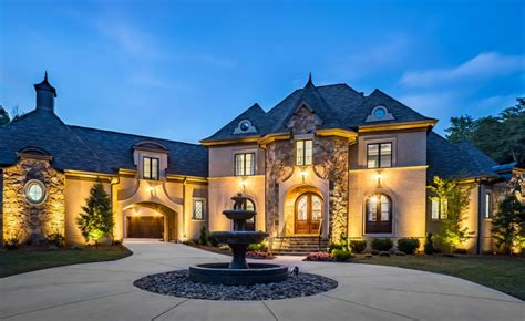 style mansions 12 000 square european style mansion in nc