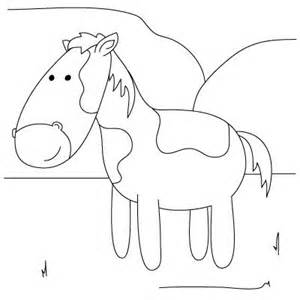 how to draw a horse from how to draw farm animals