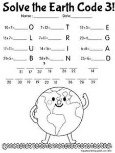 15 best images of earth day math activities worksheets