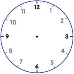 blank clock template best photos of clock template with blank