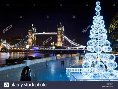 london uk 19th december 2014 a view of tower bridge