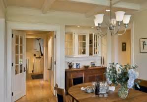 Interior window dining room victorian home renovations with coffered