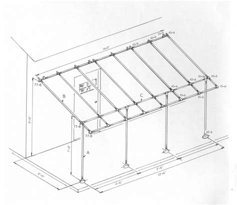 awning construction details woodwork how to build a wood awning frame pdf plans