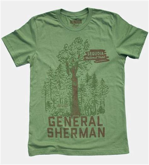 Tree Shirt Ik general sherman sequoia tree t shirt features t shirts honour brand scoutmob product detail