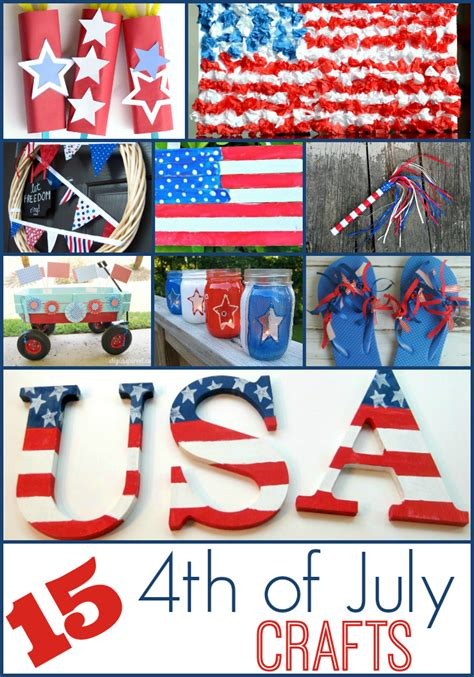 4th of july crafts 15 fourth of july crafts to do with shesaved 174