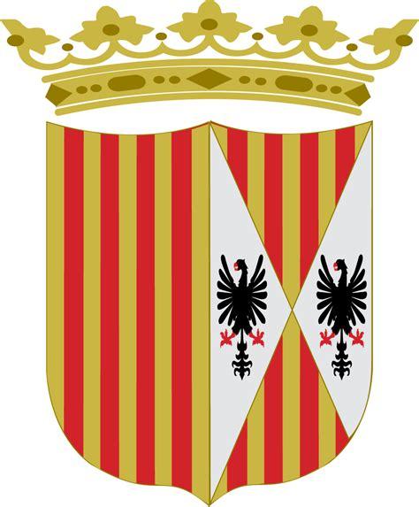 la corona de aragn 8494158627 file escudo corona de aragon y sicilia png wikimedia commons