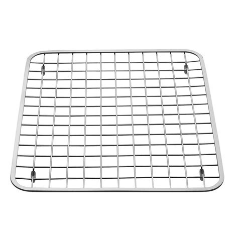 grid layout chrome interdesign 12 75 in x 11 in gia sink grid in chrome