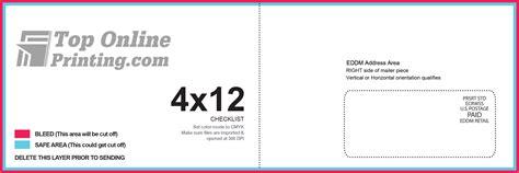 eddm template 4x12 eddm printing