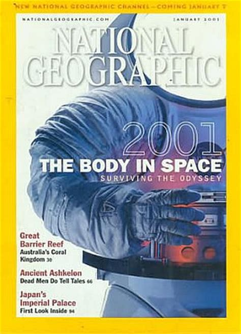Backissues Com National Geographic January 2001