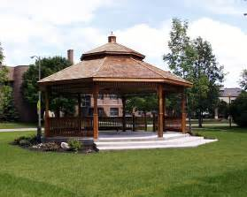 Backyard Patio With Gazebo by Why Buy A Gazebo